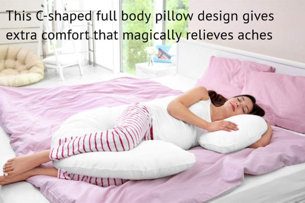 full body pregnancy pillow