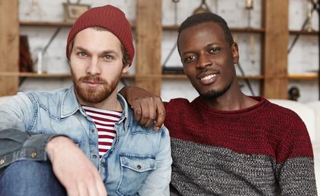 gay black men dating