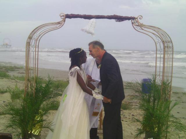 Interracial Marriage Jannett & Neil - United States - Jamaica