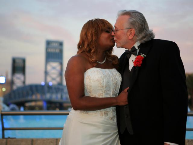 Interracial Marriage Meika & James - Florida, United States