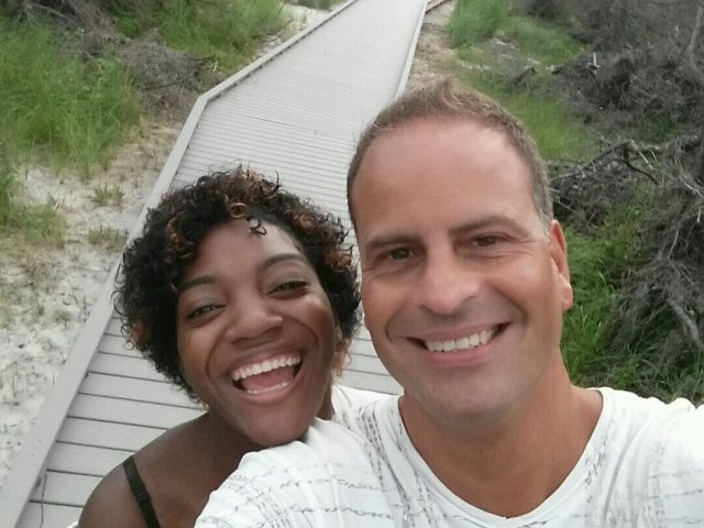 Interracial Couple Inayah & Kristian - New York, United States