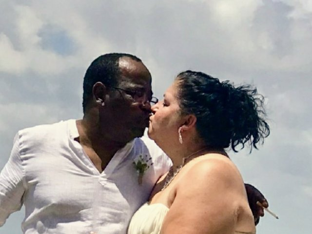 Interracial Marriage Cauleen & James - New Iberia, Louisiana, United States